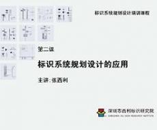 标识系统规划设计培训课程 第二课 标识系统规划设计的应用
